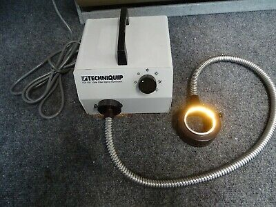 Techniquip FOI-150-UL Fiber Optic Illuminator w/ Ring Light & Power Cord