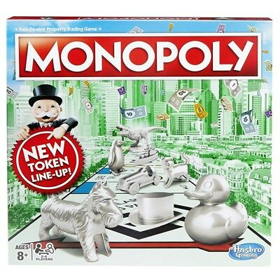 Hasbro Classic Monopoly Board Game (C1009) New And Sealed