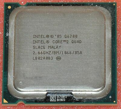 Intel Core 2 Quad Q6700 HH80562PH0678MK SLACQ CPU 1066//2.66GHz LGA 775 100/% OK