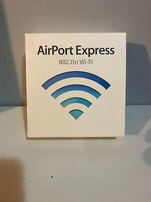 Apple Airport Express A1264 54 Mbps 10/100 Wireless N Router (MB321LL/A)