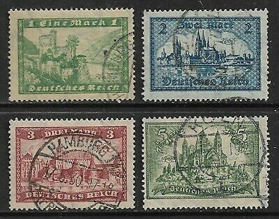 GERMANY 1924-25 High Values SG -379 Used (CV £40)