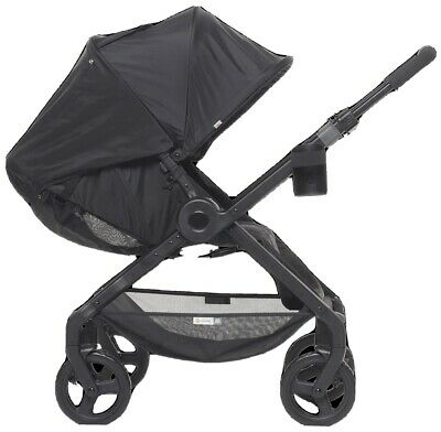 NEW Ergobaby 180 Reversible Compact One Hand Fold Single Stroller Black