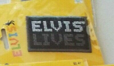 New Lot of 8 Different Elvis Presley Applique Patches
