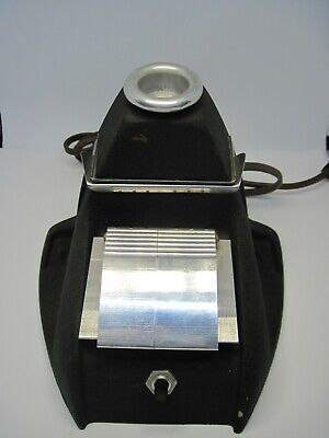 Film Viewer 8 mm Splicer Antique Lighted Working