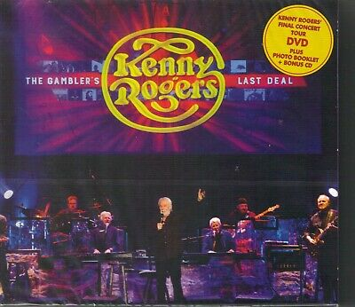 Kenny Rogers - The Gambler's Last Deal Dvd/Cd Set Mint New Sealed Out Of Print