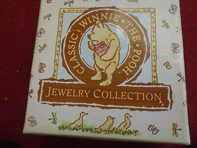 Disney Harlow Classic Winnie the Pooh Jewelry Collection necklace Mint in Box