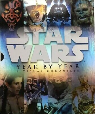 Star Wars Year by Year: A Visual Chronicle HARDCOVER w/ slipcover & 2 prints