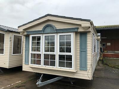 Luxury 1 Bed Double Glazed & Central Heated Static Caravan For Sale Off Site