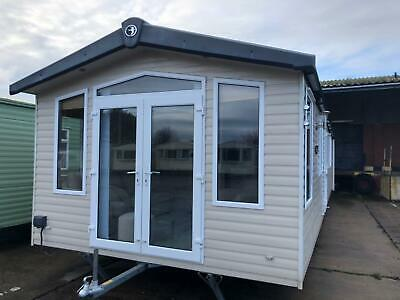 Modern Double Glazed & Central Heated Static Caravan For Sale Off Site