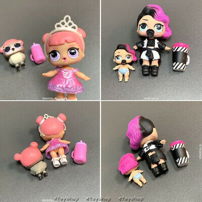 Lot 2Pcs LOL Surprise Doll CENTER STAGE with pet Series 1 Real L.O.L toy gift