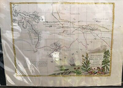 1776 Map of the South Sea (Captain Cook interest)