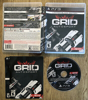 GRID Autosport : Limited Black Edition - Ps3 ( Sony Playstation 3 ) Complete !