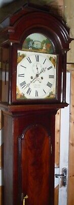 "Antique Mahogany ""  Automation  Ball "" Bristol Grandfather / Longcase Clock"