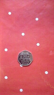 Brexit 50P Coin 2020 Uncirculated From Sealed Bag Rare New British Official Rel