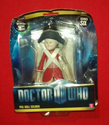 DOCTOR WHO UNCLE action figure w one heasd  no FLESH #zcd3w