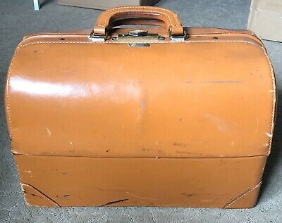 VINTAGE ANTIQUE DOCTORS Medical Bag EMDEE BY SCHELL PATENT NO. 2293363