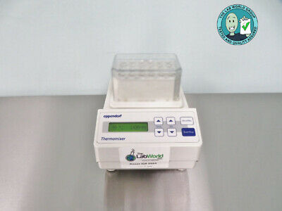 Eppendorf Thermomixer 5350 Mixer with Warranty SEE VIDEO