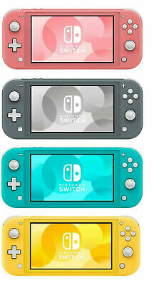 NEW Nintendo Switch Lite 32GB Handheld Video Game console -- 3 colors available