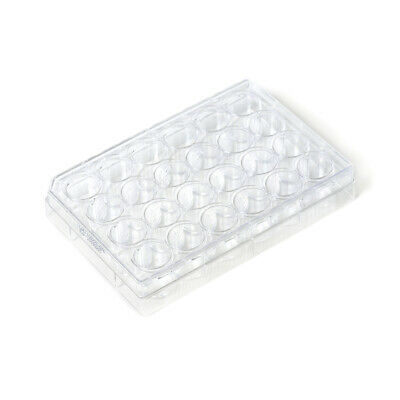 12-Well Treated, Flat Bottom, Tissue Culture Plates, Sterile, 100/pk