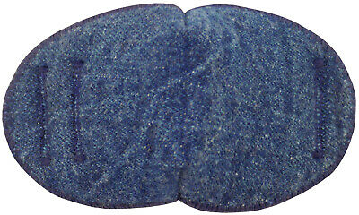 Denim - Medical Adult Glasses Patch, Soft and Washable.  Sold to the NHS