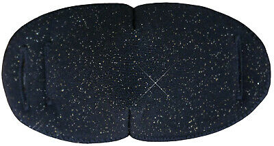 Black Sparkle  - Large Medical Adult Eye Patch for Glasses, Soft and Washable