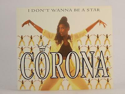 CORONA, I DON'T WANNA BE A STAR, 981, EX/EX, 5 Track, CD Single, Picture Sleeve,