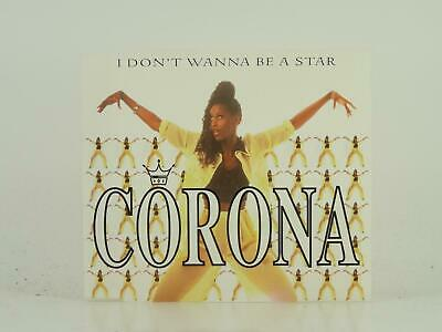 CORONA, I DON'T WANNA BE A STAR, 346, EX/G, 5 Track, CD Single, Picture Sleeve,