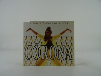 CORONA, I DON'T WANNA BE A STAR, 55, EX/EX, 5 Track, CD Single, Picture Sleeve,