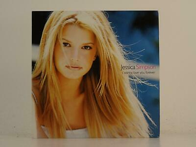JESSICA SIMPSON, I WANNA LOVE YOU FOREVER, EX/EX, 2 Track, Promo CD Single, Card