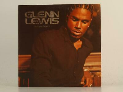 GLENN LEWIS, DONT YOU FORGET IT, EX/EX, 2 Track, Promo CD Single, Card Sleeve, E