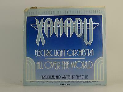 """ELECTRIC LIGHT ORCHESTRA, ALL OVER THE WORLD, 75, VG/VG, 2 Track, 7"""" Single, Pic"""