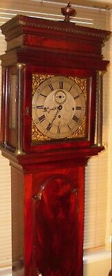 "Antique  "" Leominster ""  Musical  8 Bells     Longcase / Grandfather Clock"