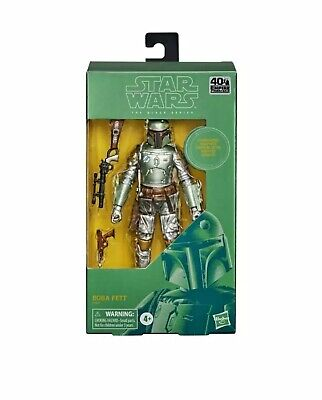 "Star Wars Black Series 6"" Carbonized Boba Fett 40th Anniversary PRE-ORDER"