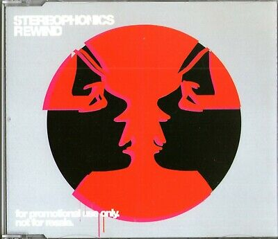 STEREOPHONICS - Rewind - (2 Track CD Promo) - 2005 Indie Rock