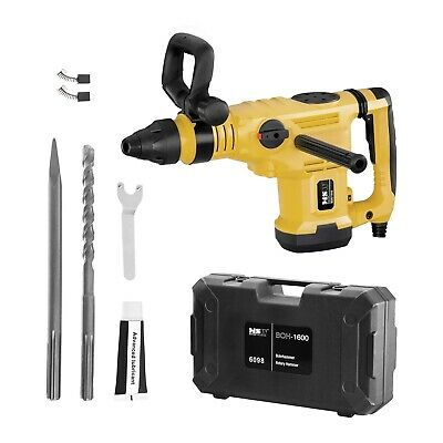 TROTEC Rotary Hammer Drill Impact PRDS 11-230VChiselDriver SDS Plus 1600 W