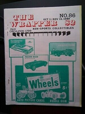 The Wrapper magazines (#86, #103) Topps World On Wheels EX