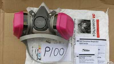 3M Respirator w/cartradge, New, Look at pictures, reusable