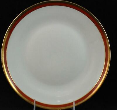 Richard Ginori PALERMO RUST/RED Large Dinner Plate Impero Line GREAT CONDITION
