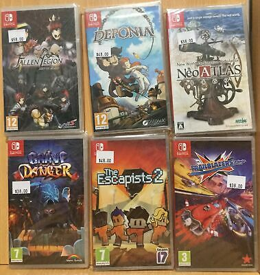 05 18 Brand New Nintendo Switch Games - Plays on ALL Switch Consoles Worldwide