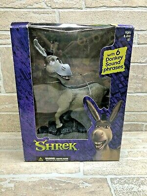 Shrek Donkey with Sound, 6 Phrases - Vintage 2001