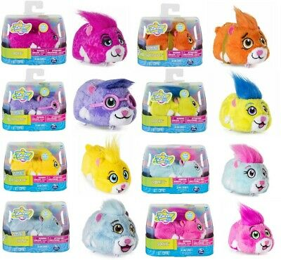 Spin Master Zhu Zhu Pets Moving Hamster 8 Different Toys 12cm - Brand New