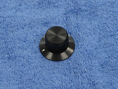 "Lot of 4 ALCO knob 1"" skirted with Indicator Line - Used"