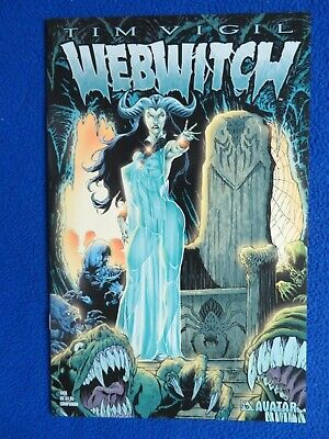Webwitch Preview 2002 Tim Vigil avatar comics comic book cool collectible rare