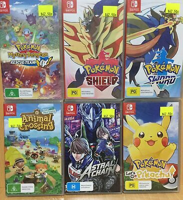 11 18 Brand New Nintendo Switch Games - Plays on ALL Switch Consoles Worldwide
