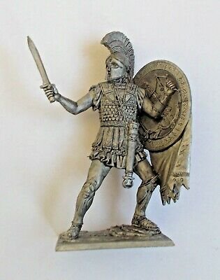 1/30 Ancient Greece Warrior Athens Hoplite 4th BC Tin Metal Soldier 75 mm NEW