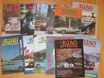 EJAG News Magazine, 11 Issues, 1981 All Issues Except May