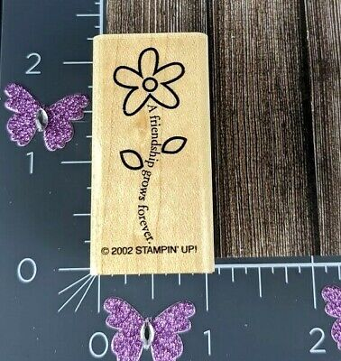 Garden Humor Unmounted Rubber Stamp #HS DISCONTINUED God/'s in Charge of the flowers I grow the weeds