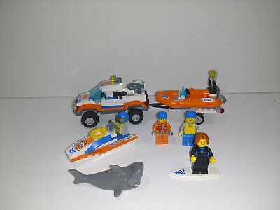 LEGO City Coast Guard SURFER RESCUE STICKER SHEET ~ Replacement for Set # 60011