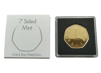Golden Watch 'Happy Retirement' Gold Plated Commemorative Coin / Gift / Present