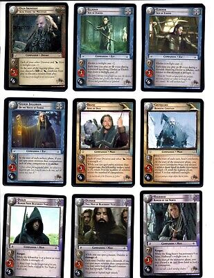 LORD OF THE RINGS LoTR EME EXPANDED MIDDLE EARTH COMPLETE CARD SET 14R1-14R15